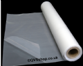 Heavy Duty Clear Polythene Sheeting Rolls | 1000 Gauge | 4m-2m - QVS